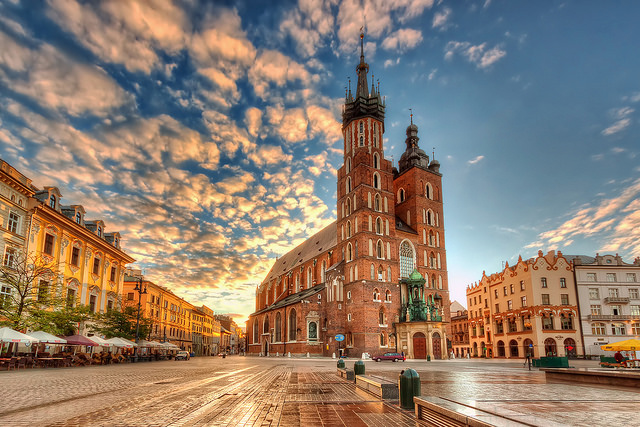 St. Mary's Basilica in Kraków, Poland