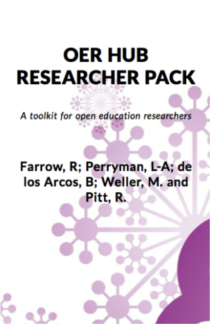 OER Hub Researcher Pack