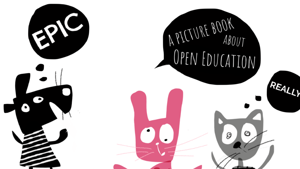 GOGN Fellowship project: Co-creating an open picture book about open education